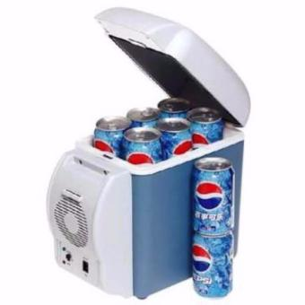 Portable Electronic Cooling And Warming Refrigerator 7.5L