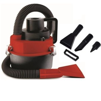 Portable Wet and Dry Vacuum Cleaner-Red/Yellow