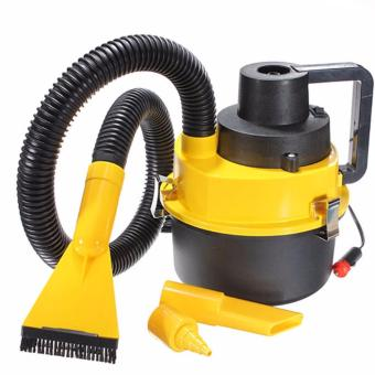 Portable Wet and Dry Vacuum Cleaner(Yellow)
