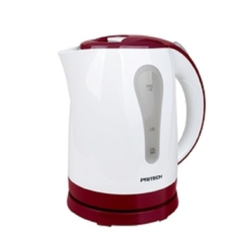 PRITECH KA-074 High Quality Plastic Electric Kettle 1.8L (Red)
