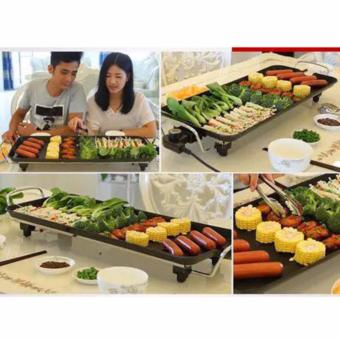 Quality Korean Style Multifunctional Electric Non-Stick BBQ GrillPan - 2
