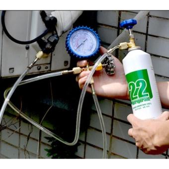R22 Refrigeration Air Conditioning Manifold Gauge Freon HVAC Charging Tools - intl - 2