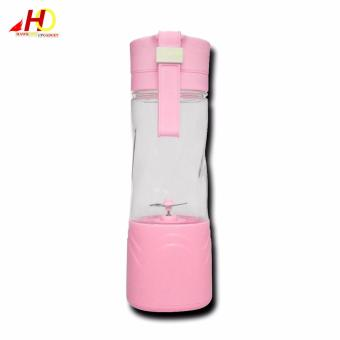 Rechargeable Electric Fruit Juicer Portable Juice Cup (Pink) - 2