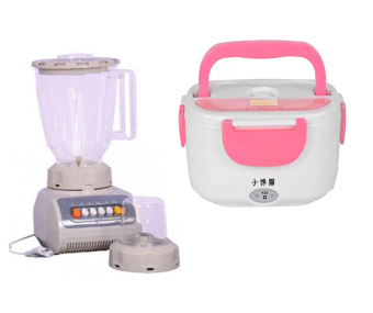 Salem SM 999 Electric Blender with Grinder With Multi-FunctionElectric Lunch Box