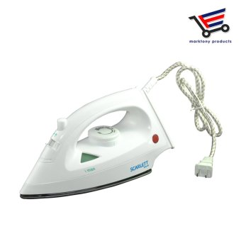 Scarlet Portable Steam/ Spray/ Dry Iron Clothes/ Garment /FabricSteamer Non Stick Flat Iron