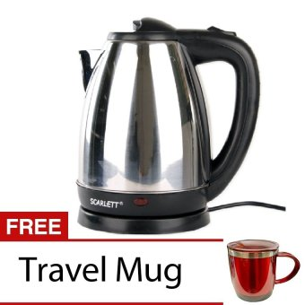 Scarlett Electric Kettle with FREE Travel Mug