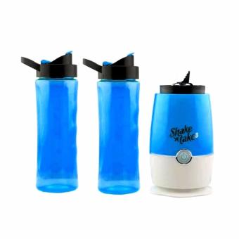 Shake 'n Take 3 Double Bottle (Blue)