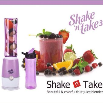 Shake n Take 3 Double Bottle (Violet) - picture 2