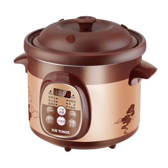 SJ Purple Clay healthy electric cookers microcomputermultifunctional slow cooker 2L Price Philippines