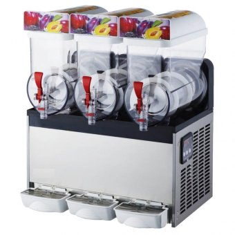 Sofitec SFT-3 Cylinder Slush Machine (Stainless/Transparent)