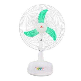 "Standard SDM16B 16"" Desk Fan (Aqua Green)"