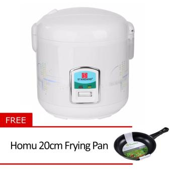 Standard SJC-10S 1.8L Rice Cooker with Free Homu 20cm Frying Pan