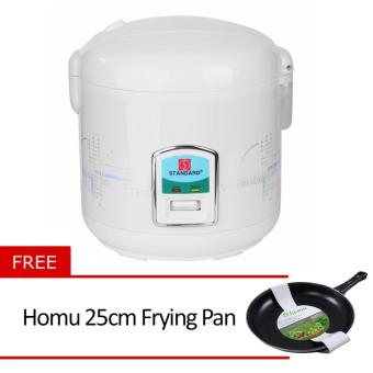 Standard SJC-10S 1.8L Rice Cooker with Free Homu 25cm Frying Pan