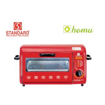 Standard SOT 603 Wide Oven Toaster 8L (Red) Price Philippines