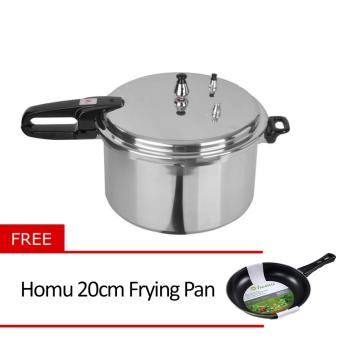 Standard SPC-8QC Pressure Cooker with Free Homu 20cm Frying Pan