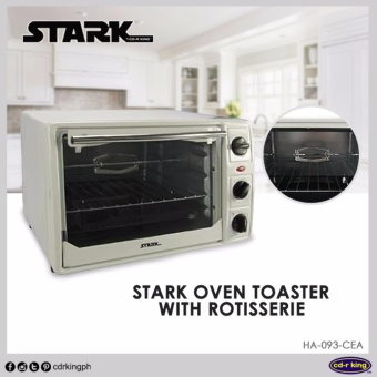 STARK Oven Toaster with Rotisserie HA-093-CEA Price Philippines