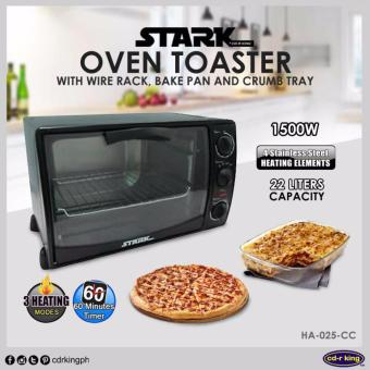 STARK Oven Toaster with Wire Rack,Bake Pan and Crumb Tray HA-025-CC Price Philippines