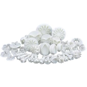 Sugarcraft Cake Decorating Modelling Tool 33-piece Set (White)
