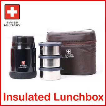 Swiss Military Vacuum Insulated Lunchbox - intl