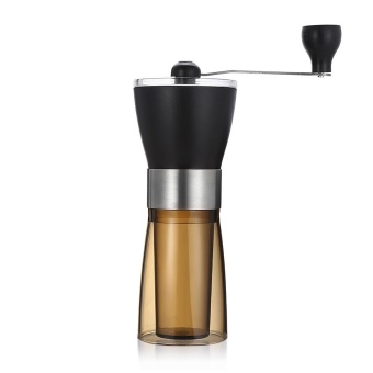 Tianfuxing Manual Coffee Grinder Portable Hand Grinding Machine (Coffee And Black) - intl - 3