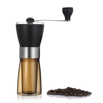 Tianfuxing Manual Coffee Grinder Portable Hand Grinding Machine (Coffee And Black) - intl - 2