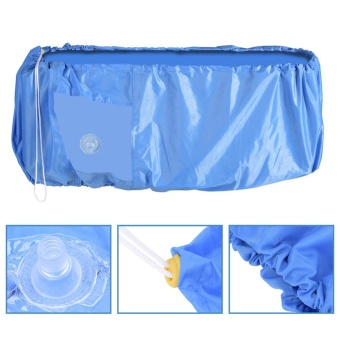 TMISHION Air Conditioner Cleaning Dust Washing Cover WaterproofProtector (Blue Color M) - intl