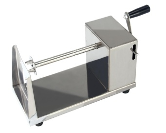 uiuinon Stainless Steel Potato Spiral Slicer Cutter Machine,Sliver - intl