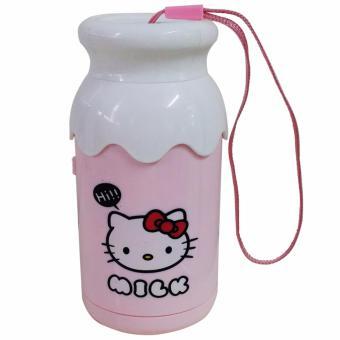Ultralite Hello Kitty Rechargeable Mini Fan (Pink) - 3