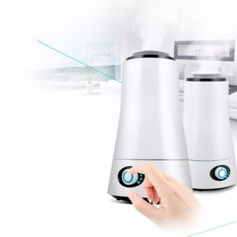 Ultrasonic Low Noise Air Humidifier(White)XY20 With Free Humidifier Scent