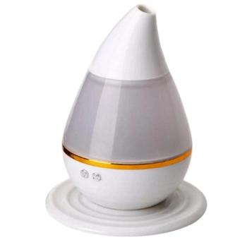 Ultrasound Atomization Humidifier Colorful Gradient Light (White)