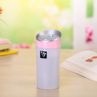 USB Anion Air Humidifier Aromatherapy Aroma Diffuser 300ml CapacityCup 2 Mist Modes for Essential Oil for Office Car Home Use Pink -intl Price Philippines