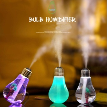 USB Bulb Essential Oil Aroma Diffuser Humidifier Air AromatherapyPurifier 400ML