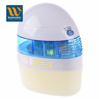 USB Mini Humidifier Aromatherapy Diffuser Air Freshener Purifier(Blue)