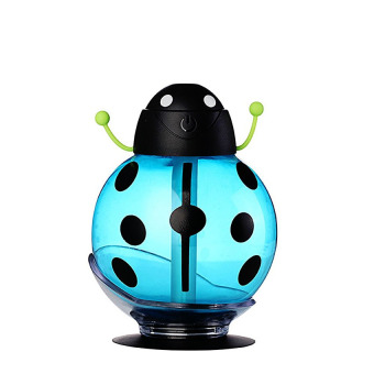 USB Portable Beatle Cool Mist Humidifier (Blue)