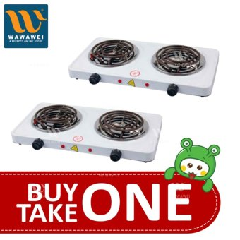 Wawawei Best Quality 1000W Double Burner Hot Plate Electric CookingYQ-2020B BUY ONE TAKE ONE 1 Price Philippines