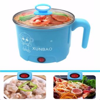 XUNBAO Stainless Steel Electric Cooker Boiler (Blue)
