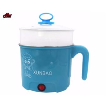 XUNBAO Stainless Steel Electric Cooker Boiler (Blue) - 2