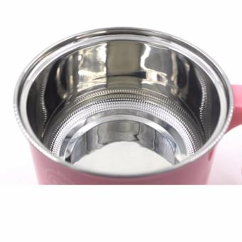XUNBAO Stainless Steel Electric Cooker Boiler (Pink) - 2