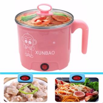 XUNBAO Stainless Steel Electric Cooker Boiler (Pink)