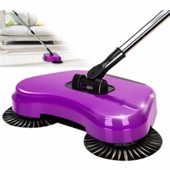 XZY 360 Rotary Home Use Magic Manual Telescopic Floor Dust Sweeper(color may vary)