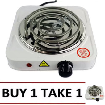 XZY Hot Plate Electric Cooking Stove Single (White) BUY1 TAKE1 Price Philippines