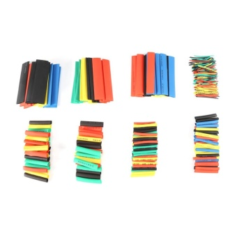 YOSOO-328pcs Mixed Color 2:1 Heat Shrink Wrap Sleeves Tube WireCable - intl