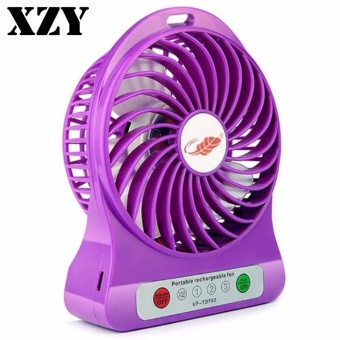 ZDL-F68 Portable Mini USB Rechargeable Fan (Violet) Price Philippines