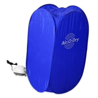 Zover Air O Dry Portable Fast Clothes Dryer Suitable Suitable ForAny Kind Of Fabric (Blue) Price Philippines