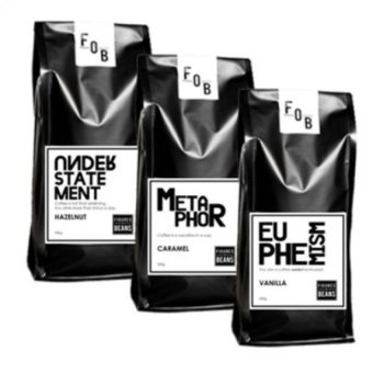3 Flavors Coffee Bundle 500g Ground Coffee