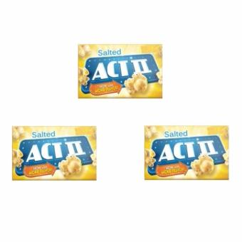 ACT II Salted Popcorn 85 grams (SET OF 3)