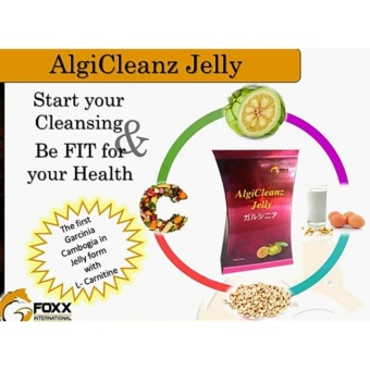 AlgiCleanz Dietary Supplement Fat Blocker Slimming Jelly, (GarciniaCambogia) - Lose Weight in 10 days