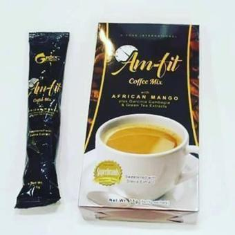 Am-Fit Coffee Mix w/ Garcinia Cambogia and African Mango Price Philippines