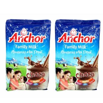 Anchor Family Milk Choco 700g - Set of 2