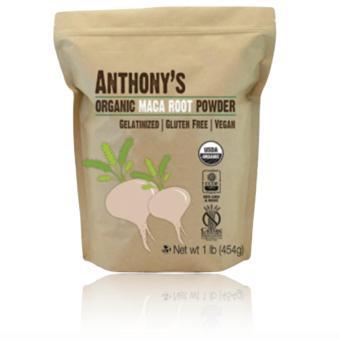 Anthony's Organic Maca Root Powder Gelatinized (454g)